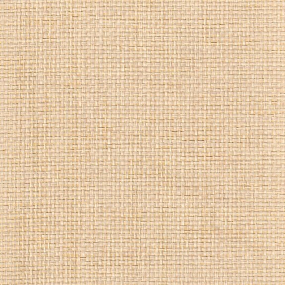 Natural Paper Yarn Grasscloth Wallpaper on Gold Foil Background