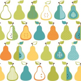Kitchen Pears Wallpaper