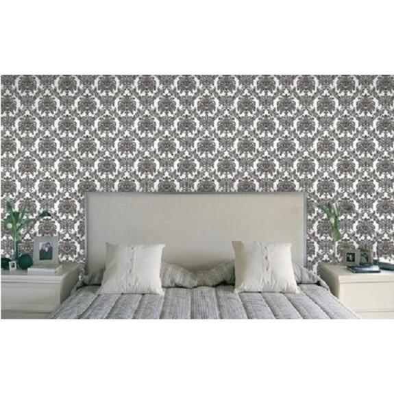 Floral Harlequin and Damask Wallpaper