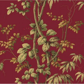 Leaves On Vine Wallpaper