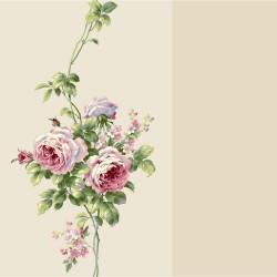 Tropical floral and exotic birds Print Designer York Wallpaper BA4575