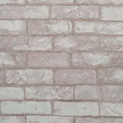 Brick Wall Textured Wallpaper