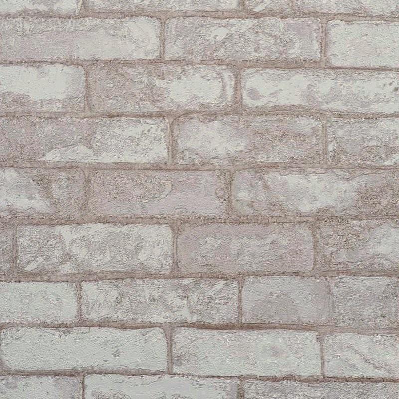 Brick Wall Textured Wallpaper