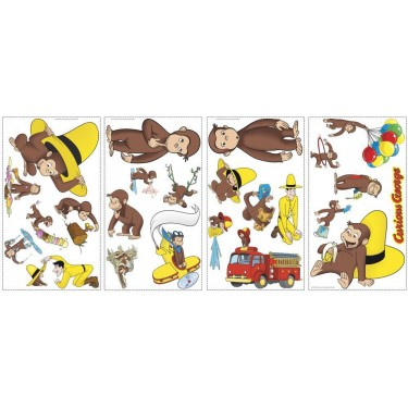 Curious George Wall Stickers