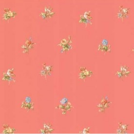 Floral Toss Wallpaper