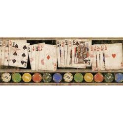 Poker Hands Border