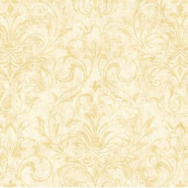 Damask Scroll Wallpaper