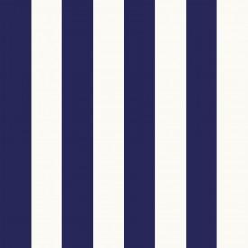 2.625 inch Wide Navy Stripe Wallpaper