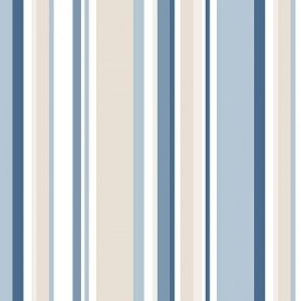 Multi Striped Wallpaper