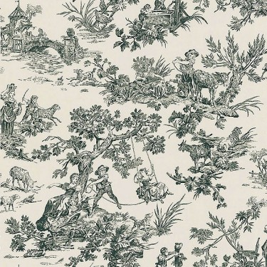 Limoges Toile Wallpaper