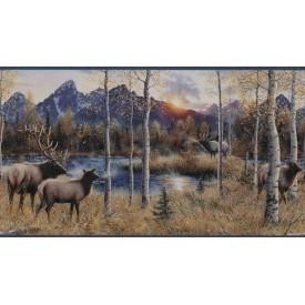 Elk River Border