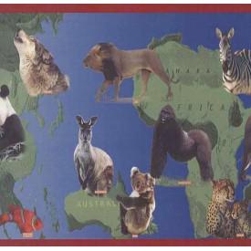 A World Of Animals Border