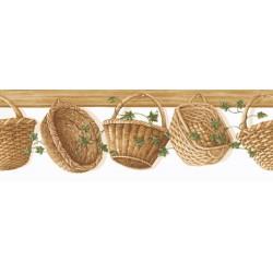 Baskets & Ivy Die Cut Border