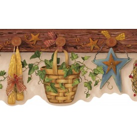 Country Peg Board Border