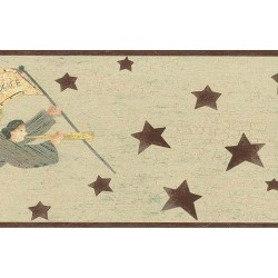 Angel With Banner Border