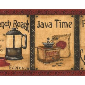 Vintage Coffee Border