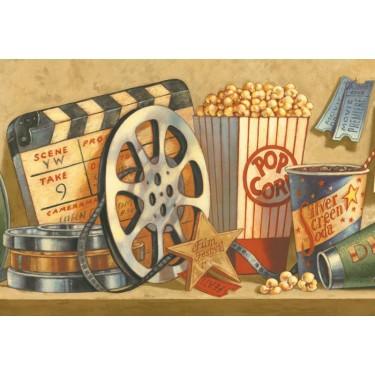 Movies Media Room Border