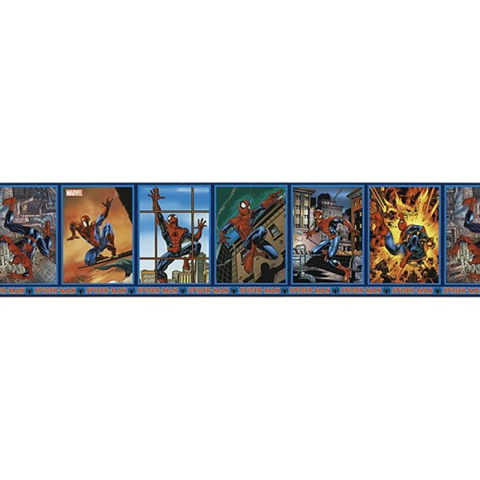 Jj6899b Spider Man Frames Border Discount Wallcovering