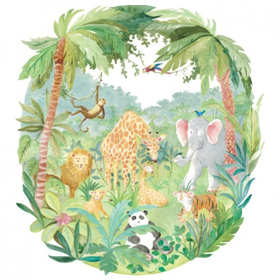 Jungle Boogie Mural