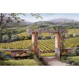 Tuscan Garden Mural