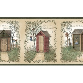 Country Outhouses Border