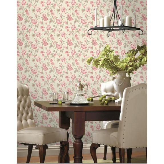 Jacobean Floral Wallpaper