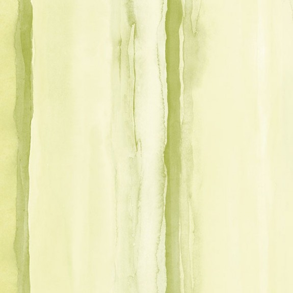 Tropical Watercolor Stripe Wallpaper