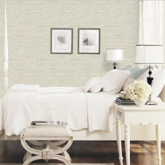 Grasscloth Pattern Wallpaper