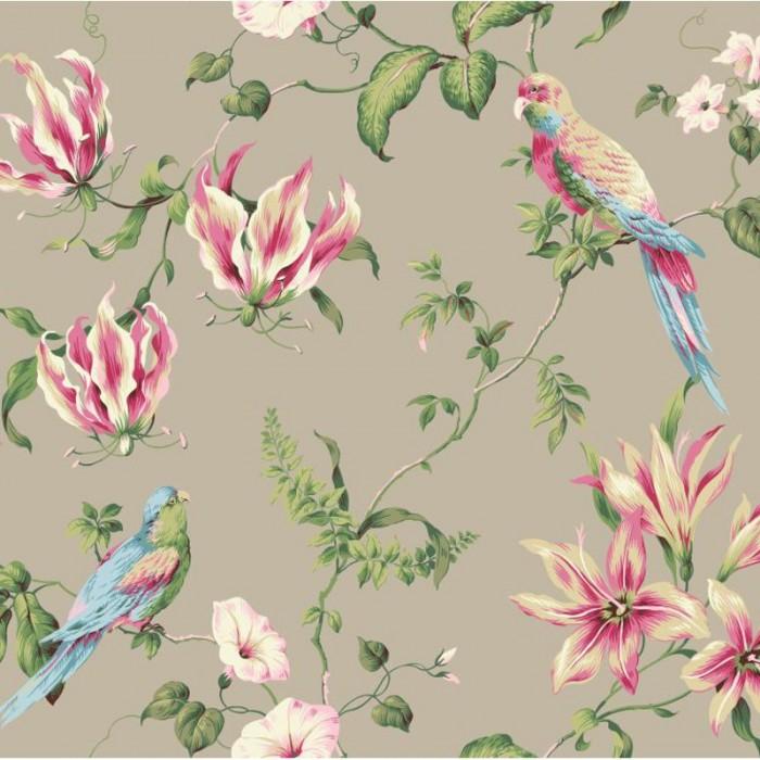 Ba4575 Tropical Floral Wallpaper Discount Wallcovering