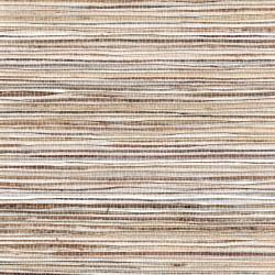 Fine Natural Raw Jute On Silver Foil Grasscloth Wallpaper