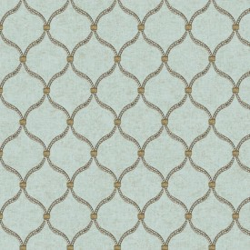 Dot Trellis Wallpaper