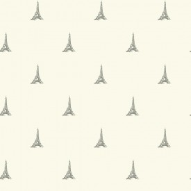 Tres Chic Tower Wallpaper