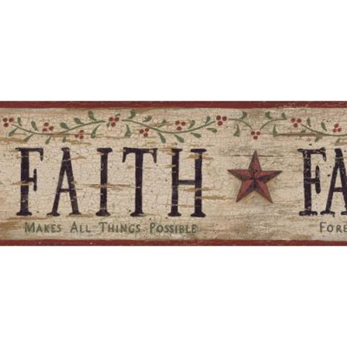 Bg1608bd Faith Family Friends Border Discount