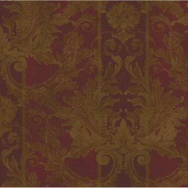 Aida Damask Stripe Wallpaper