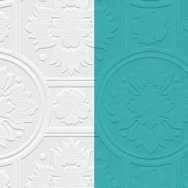 48930 Paintable Medallion Texture Wallpaper Discount