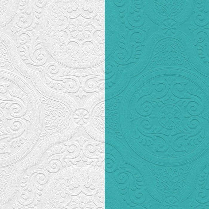 48932 Paintable Damask Texture Wallpaper Discount