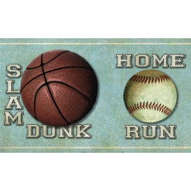 Slam Dunk Sports Toss  Border