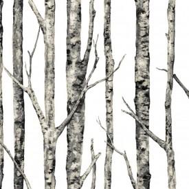 The Birches Wallpaper