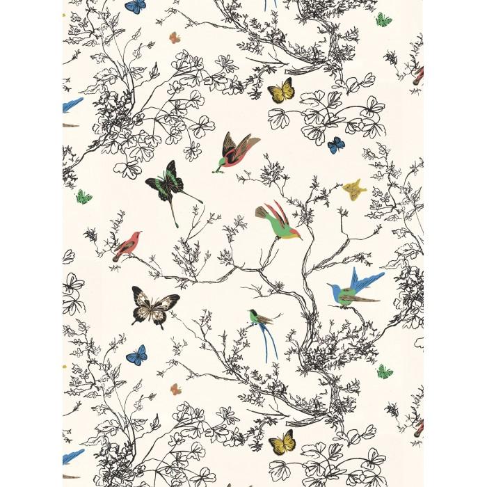 2704420 Birds Amp Butterflies Wallpaper Discount