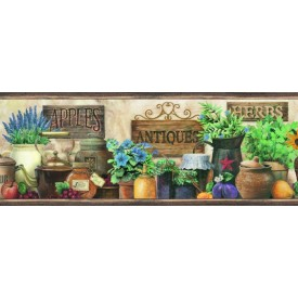 Antiques & Herbs Border