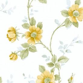 Floral Climbing Vine Wallpaper