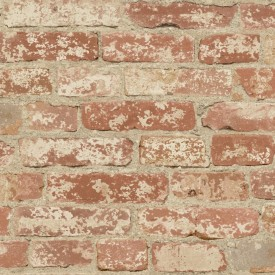 Peel & Stick Stuccoed Brick Wallpaper