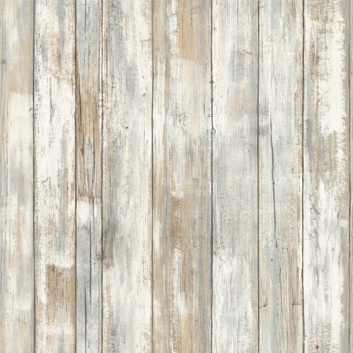 Floor Decor Military Discount: Peel & Stick Distressed Wood Wallpaper