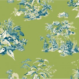 Oriental Scenic Wallpaper