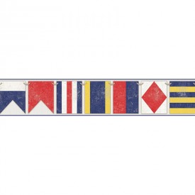 Sailing Flags Border