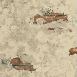 Plaster and Brick Wallpaper