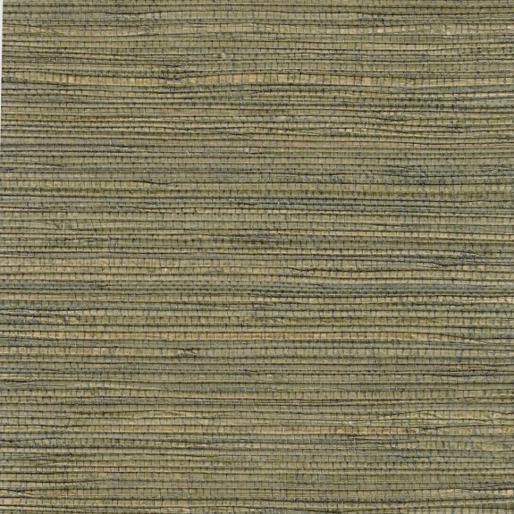 Natural Sea Grass Pearl-Coated Grasscloth Wallpaper