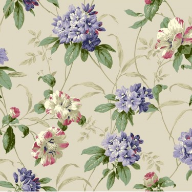 Rhododendron Floral Wallpaper