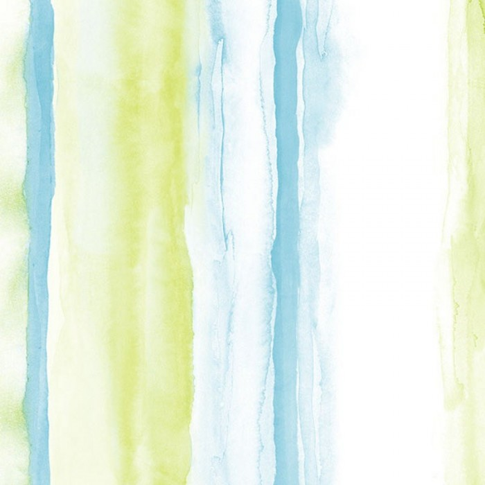 Pa34207 Tropical Watercolor Stripe Wallpaper Discount Wallcovering