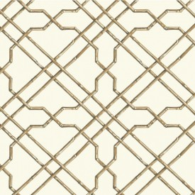 Bamboo Trellis Wallpaper